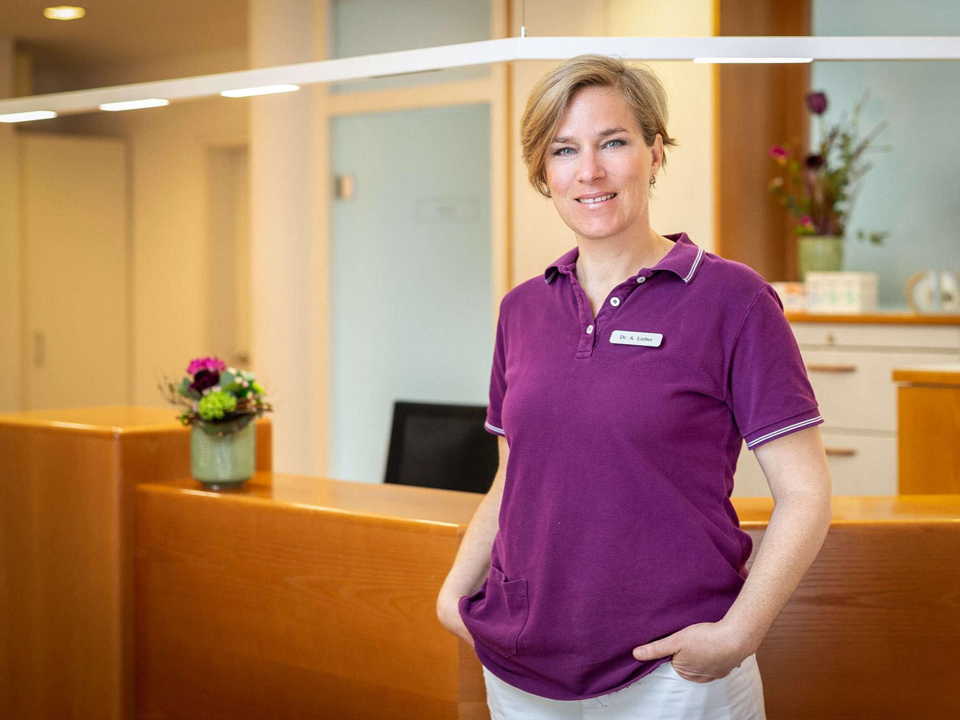 Fachärztin für Frauenheilkunde und Geburtshilfe Dr. med Alina Lieber