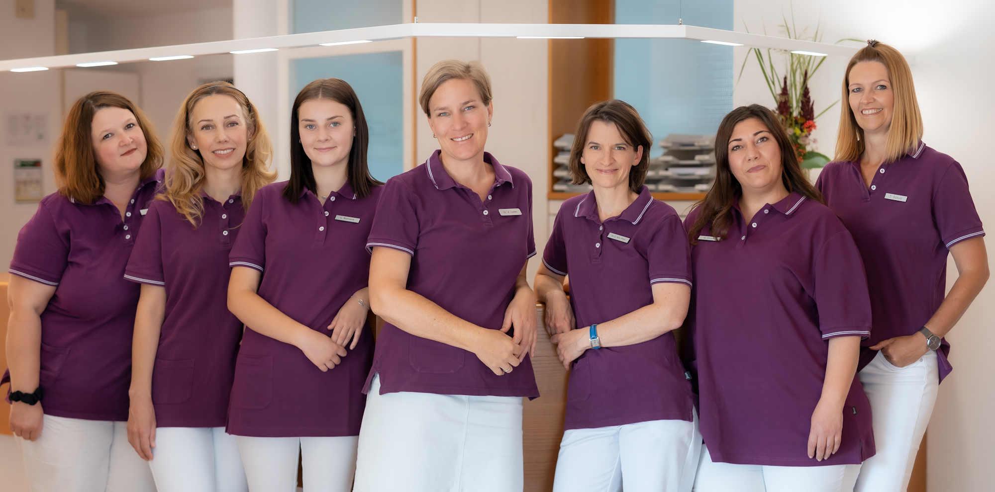 Das Team der Praxis für Frauenheilkunde und Geburtshilfe Praxis Dr. Lieber